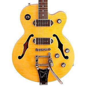 Guitarra Semi-Acústica Epiphone Wildkat Antique Natural