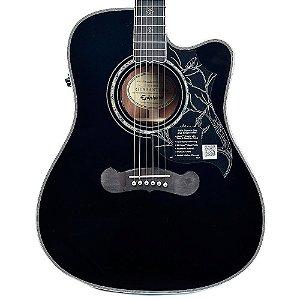 Violão Elétrico Epiphone Dave Navarro Signature Folk Black