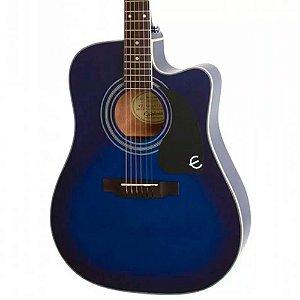 Violão Elétrico Epiphone Pro-1 Ultra Folk Blue Burst