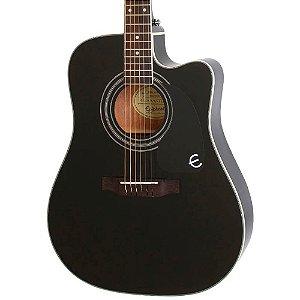 Violão Elétrico Epiphone Pro-1 Ultra Folk Black
