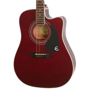 Violão Elétrico Epiphone Pro-1 Ultra Folk Wine Red