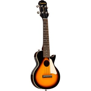 Ukulele Eletro-Acústico Epiphone Les Paul Concert Vintage Sunburst