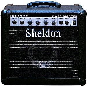 Caixa Amplificada Sheldon BSS300 30W 110/220V P/ Contrabaixo