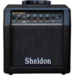 Caixa Amplificada Sheldon GT150 15W 110/220V para Guitarra