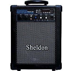 Caixa Acústica Sheldon Max1000 15W Multiuso Bluetooth 110/220V