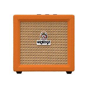 Caixa Amplificada Orange Micro Crush 3W 1x4 para Guitarra