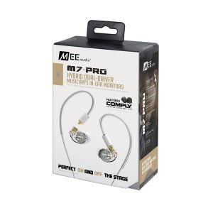 Fone De Ouvido Mee Audio M7 PRO Hybrid Dual-Driver In-Ear
