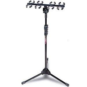 Suporte Pedestal com Descanso Ibox SM8 para 8 Microfones
