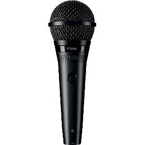 Microfone Dinâmico Shure PGA58-XLR Cardióide
