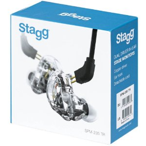 Fone In Ear Stagg SPM 235 TR Stage Monitor Dual Driver