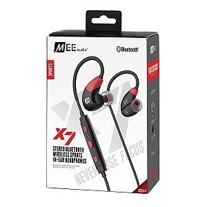 Fone De Ouvido Mee Audio X7 Stereo Bluetooth In-Ear Vermelho