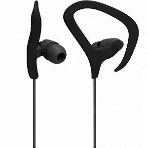 Fone de Ouvido Multilaser Earhook PH356 Preto IntraAuricular