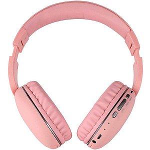 Fone de Ouvido Telefunken TF-H600 Rosa Bluetooth