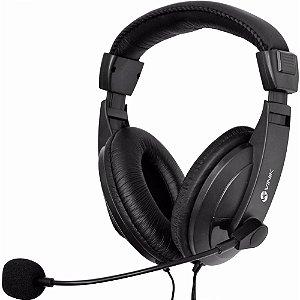 Fone de Ouvido Vinik Go Play FM35 Headset Preto com Microfone