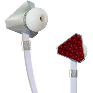 Fone de Ouvido Monster Cable Heartbeats by Lady Gaga Rose Red