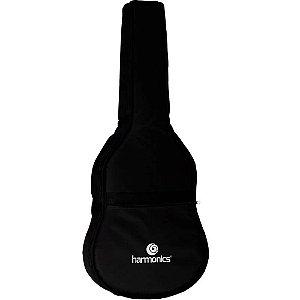 Bag Capa Harmonics Nylon Luxo para Violão Folk