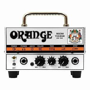 Cabeçote Orange Micro Terror Head 20W Híbrido para Guitarra