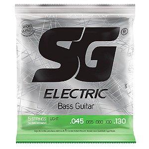 Encordoamento SG Strings .045/.130 Leve para Contrabaixo 5C
