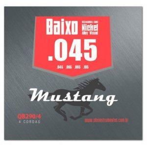 Encordoamento Mustang QB290 .045/.105 para Baixo 4 Cordas