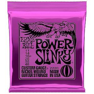 Encordoamento Ernie Ball Power Slinky 011/.048 para Guitarra