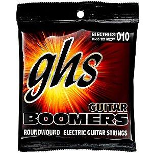 Encordoamento GHS Boomers GBZW 010/060 para Guitarra