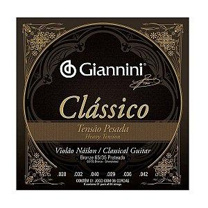 Encordoamento Giannini GENWPA Clássico Tensão Pesada Nylon