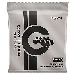 Encordoamento Solez GS5 Groove Tensão Alta para Violão Nylon