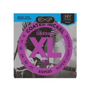 Encordoamento D'addario EXP120 .009/.042 Para Guitarra