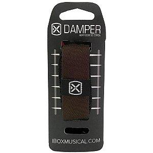 Abafador de Corda Ibox DTSM18 Damper Premium Pequeno Marrom