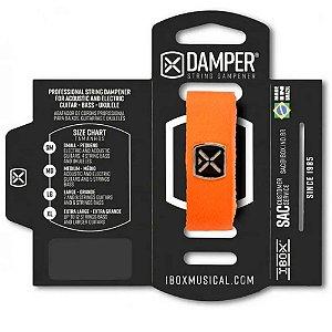 Abafador de Corda Ibox DTSM23 Damper Premium Pequeno Laranja