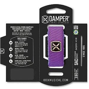 Abafador de Corda Ibox DTSM22 Damper Premium Pequeno Roxo