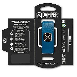 Abafador de Corda Ibox DSSM07 Damper Supreme Pequeno Azul