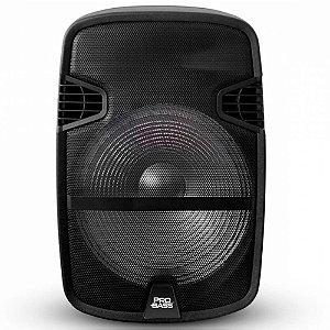 """Caixa Ativa Portátil Pro Bass Street 15"""" 150W com Microfone"""