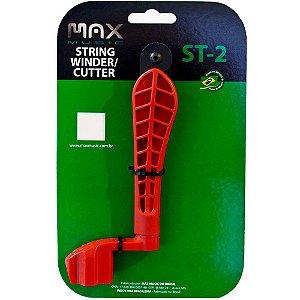Enrolador de Cordas Max Music ST-2 Manivela com Alicate
