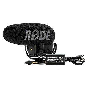 Microfone Rode VideoMic Pro+ para Câmeras