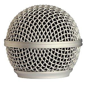 Globo Metálico Shure RK143G para Microfone SM58