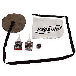Kit de Limpeza Paganini PLS007 para Sax Soprano