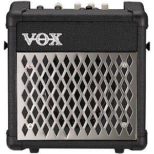 Caixa Amplificada Vox Mini5 Rhythm 5W Black para Guitarra