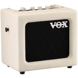 Caixa Amplificada Vox Mini3 G2 3W Ivory para Guitarra