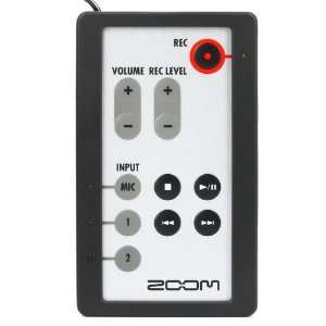Controle Remoto Zoom RC-4 para Gravador H4n