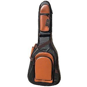 Semi Case Log Bags Premium Marrom para Violão Clássico