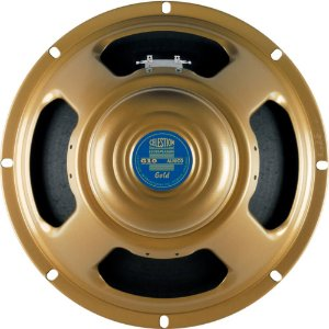"Alto Falante Celestion G10 Alnico Gold 40w 10"" 8 Ohms"