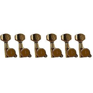 Tarraxas Gotoh SG38107LGG Dourada 6 em Linha