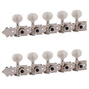 Tarraxa Deval Standard 501 Niquelado Pino Fino para Viola
