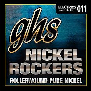 R+RM - ENC GUIT 6C NICKEL ROCKERS 011/050 - GHS