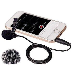 Microfone de Lapela Comica CVM-V01SP para Smartphone