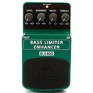 Pedal de Efeitos Behringer BLE400 Bass Limiter Enhancer