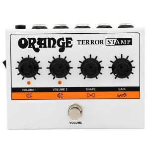 Pedal Orange Terror Stamp para Guitarra