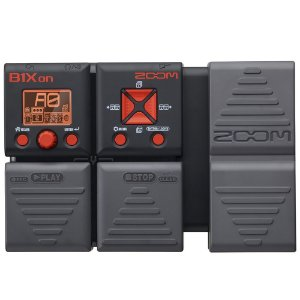 Pedaleira Zoom B1Xon Multi-Effects para Contrabaixo