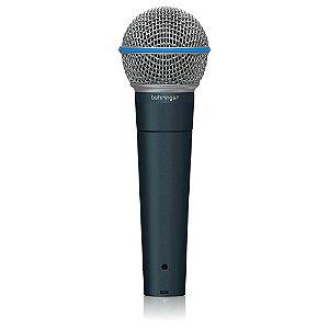 Microfone dinamico super cardioide - BA 85A - BEHRINGER